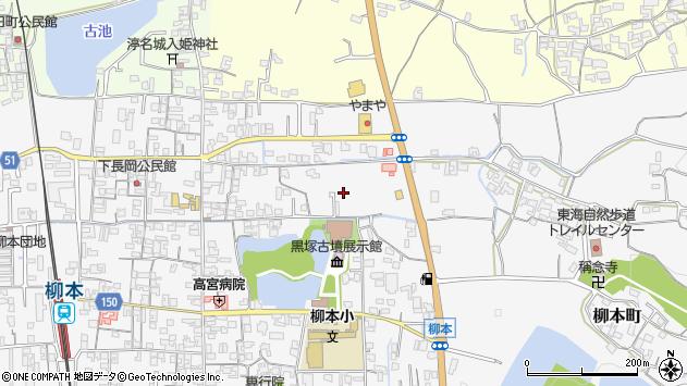 〒632-0052 奈良県天理市柳本町の地図