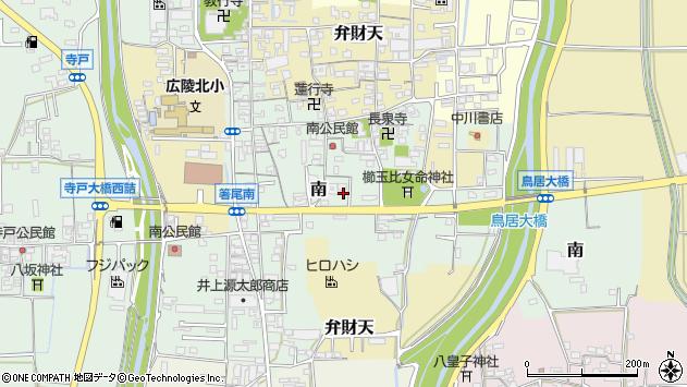 〒635-0818 奈良県北葛城郡広陵町南の地図
