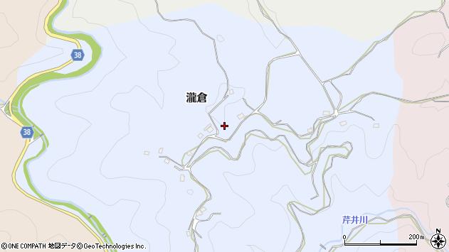 〒633-0108 奈良県桜井市滝倉の地図