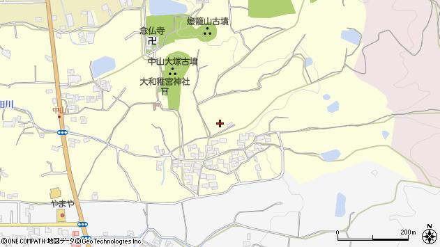 〒632-0051 奈良県天理市中山町の地図