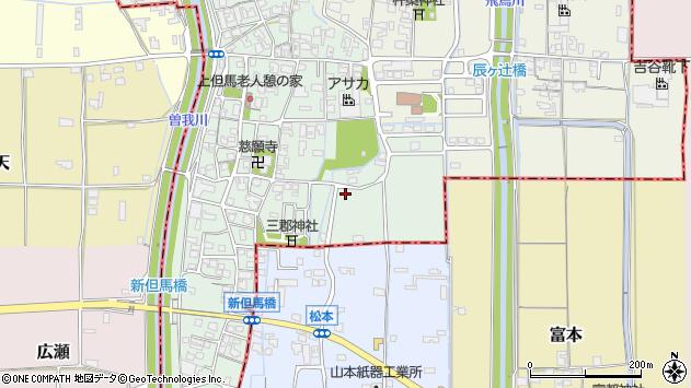 〒636-0215 奈良県磯城郡三宅町上但馬の地図