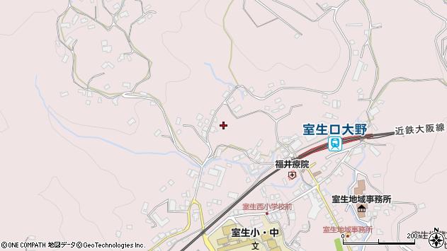 〒633-0315 奈良県宇陀市室生大野の地図