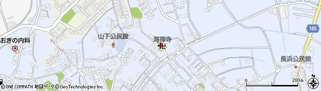 海禅寺周辺の地図