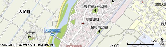 三重県松阪市桜町周辺の地図