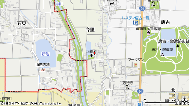 〒636-0224 奈良県磯城郡田原本町今里の地図