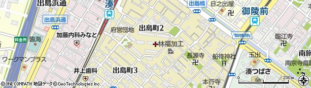 湊駅前団地周辺の地図