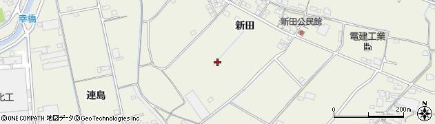 岡山県倉敷市西阿知町(新田)周辺の地図