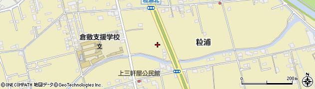 岡山県倉敷市粒浦周辺の地図