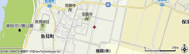 三重県松阪市魚見町周辺の地図