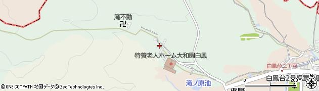 奈良県香芝市尼寺周辺の地図