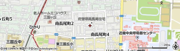 府営金岡住宅周辺の地図
