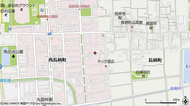 〒632-0063 奈良県天理市西長柄町の地図