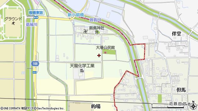 〒635-0801 奈良県北葛城郡広陵町大場の地図