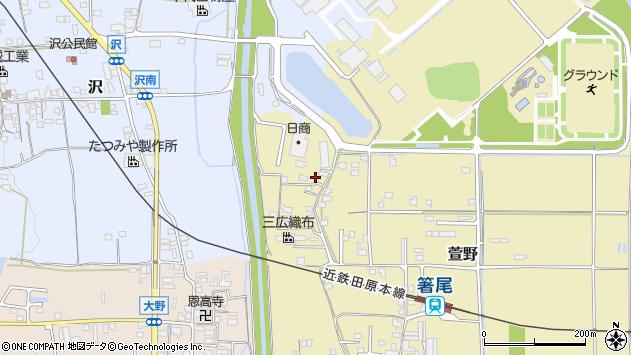 〒635-0805 奈良県北葛城郡広陵町萱野の地図