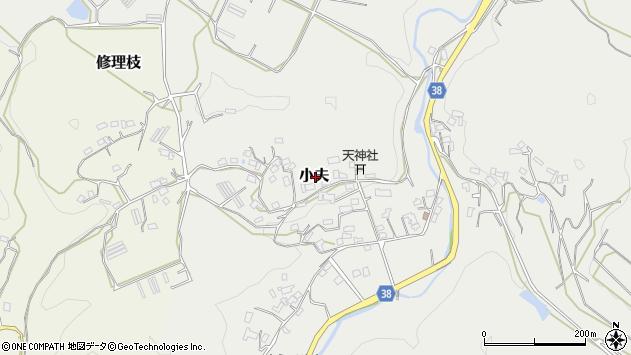 〒633-0101 奈良県桜井市小夫の地図