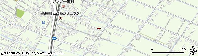 岡山県倉敷市茶屋町周辺の地図