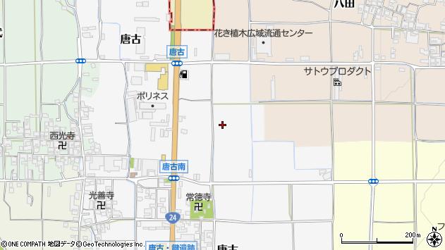 〒636-0226 奈良県磯城郡田原本町唐古の地図