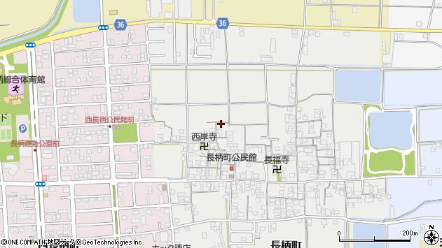 〒632-0062 奈良県天理市長柄町の地図