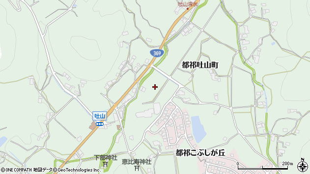 〒632-0231 奈良県奈良市都祁吐山町の地図