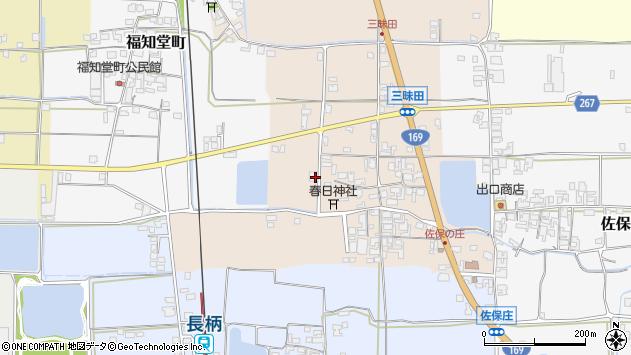 〒632-0046 奈良県天理市三昧田町の地図
