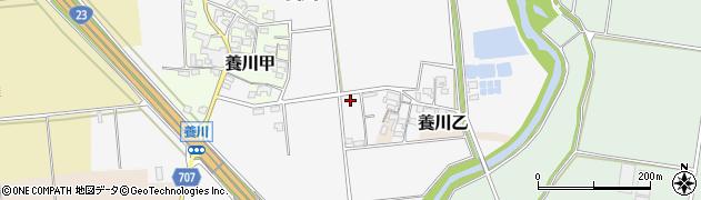三重県多気郡明和町養川周辺の地図