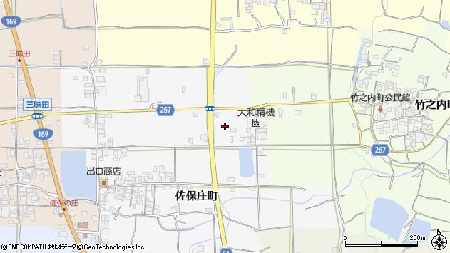 〒632-0043 奈良県天理市佐保庄町の地図