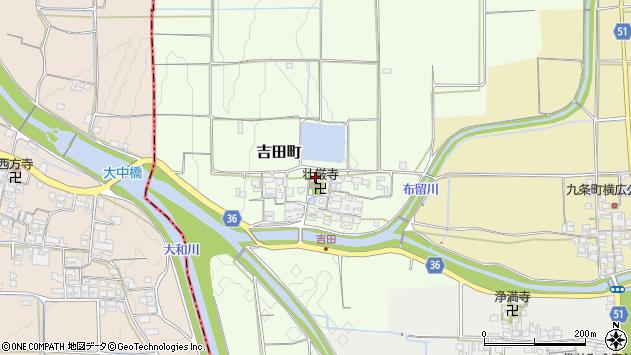 〒632-0067 奈良県天理市吉田町の地図