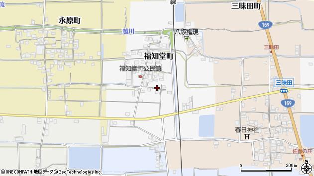 〒632-0045 奈良県天理市福知堂町の地図
