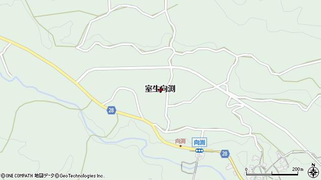 〒633-0316 奈良県宇陀市室生向渕の地図