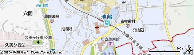 奈良県河合町(北葛城郡)周辺の地図