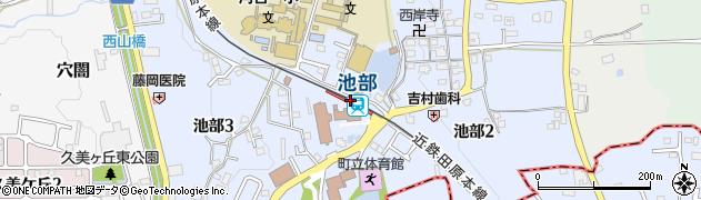 奈良県北葛城郡河合町周辺の地図