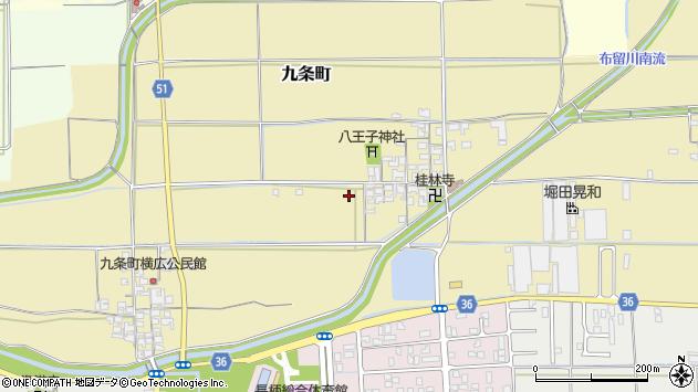 〒632-0069 奈良県天理市九条町の地図