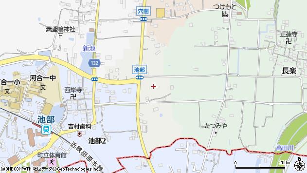 〒636-0053 奈良県北葛城郡河合町池部の地図