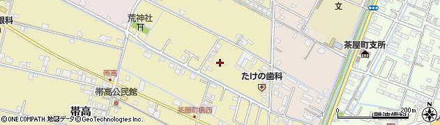 岡山県倉敷市帯高周辺の地図