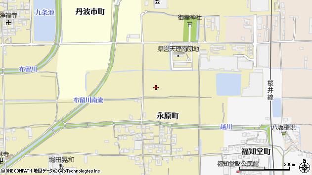 〒632-0061 奈良県天理市永原町の地図