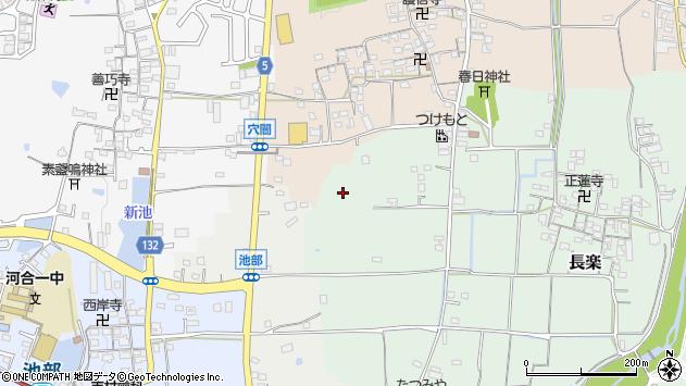 〒636-0052 奈良県北葛城郡河合町長楽の地図