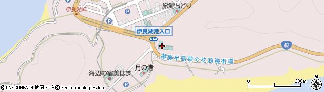 愛知県田原市伊良湖町(恋路浦)周辺の地図