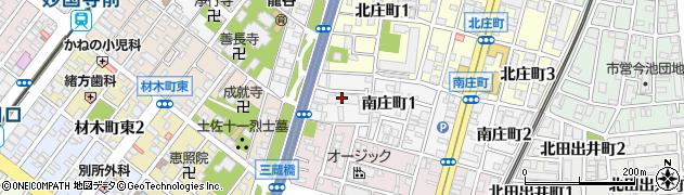 プレミアム・ランズ堺東周辺の地図