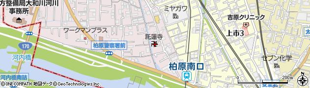 託蓮寺周辺の地図