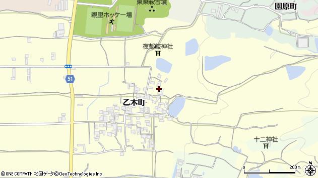 〒632-0047 奈良県天理市乙木町の地図