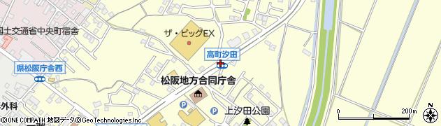 高町汐田周辺の地図