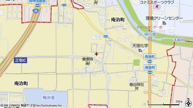 〒632-0086 奈良県天理市庵治町の地図