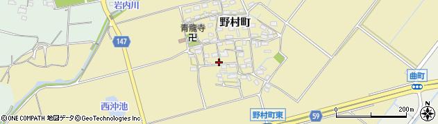 三重県松阪市野村町周辺の地図