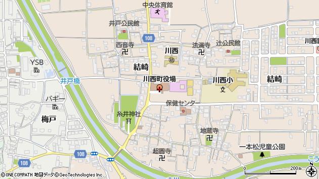 〒636-0300 奈良県磯城郡川西町(以下に掲載がない場合)の地図