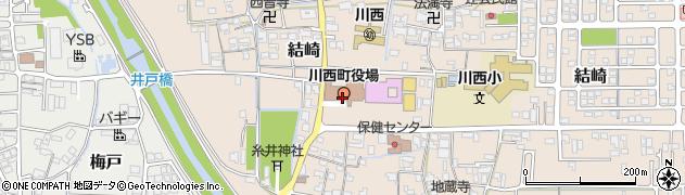 奈良県川西町(磯城郡)周辺の地図