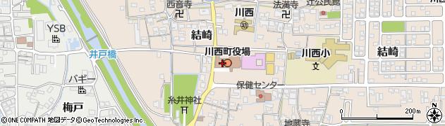 川西町役場 健康福祉課周辺の地図