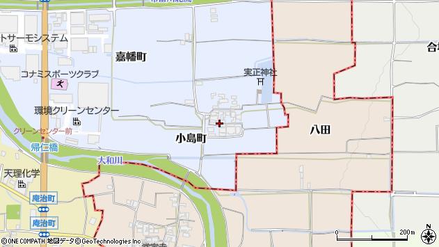 〒632-0085 奈良県天理市小島町の地図