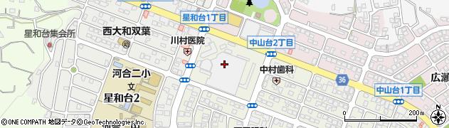 南都銀行西大和ショッピングデパート1階 ATM周辺の地図