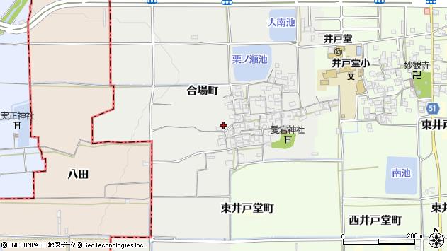 〒632-0068 奈良県天理市合場町の地図
