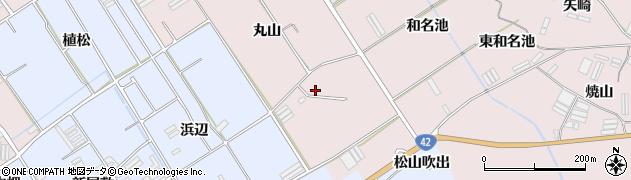 愛知県田原市伊良湖町(丸山)周辺の地図